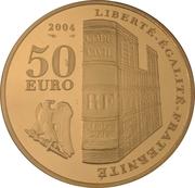 50 Euro (Crowning Napoleon I) – reverse