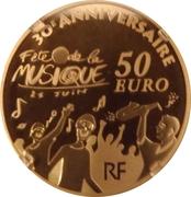 50 Euro (Music Day) – reverse