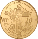 10 Euro (Pont-Neuf) – reverse