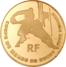 10 Euro (Rugby World Cup) – obverse