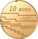 10 Euro (Cannes Cinema Festival) – reverse