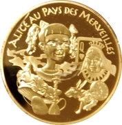 20 Euro (Alice in Wonderland) -  reverse