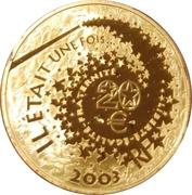 20 Euro (Alice in Wonderland) -  reverse
