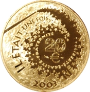 20 Euro (Sleeping Beauty) -  obverse