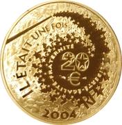 20 Euro (Peter Pan) -  reverse
