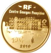 50 Euro (Georges Pompidou Center) – obverse