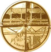 50 Euro (Georges Pompidou Center) – reverse