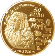 50 Euro (Year of the tiger) – reverse
