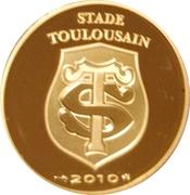50 Euro (Stade Toulousain) – obverse