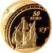 50 Euro (Jacques Cartier) – obverse