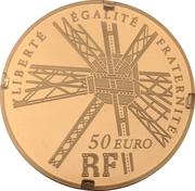 50 Euro (Gustave Eiffel) – obverse