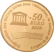50 Euro (Moscow Kremlin) – reverse
