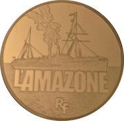 50 Euro (The Amazone ; gold) – obverse