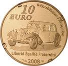 10 Euro (André Citroen) – reverse