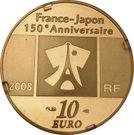 """10 Euro (""""La Liberté"""" ) – obverse"""