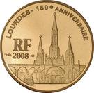 10 Euro (Lourdes) – obverse