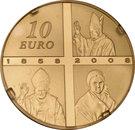 10 Euro (Lourdes) – reverse