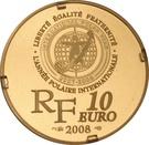 10 Euro (Polar Year) – obverse