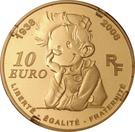 10 Euro (Spirou) – obverse