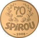 10 Euro (Spirou) – reverse