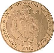 50 Euro (Abbé Pierre) – obverse