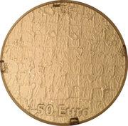 50 Euro (Yves Klein) – obverse