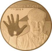 50 Euro (Yves Klein) – reverse