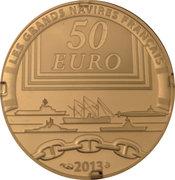 50 Euro (The Gloire) – reverse