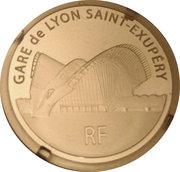 50 Euro (Lyon Saint-Exupéry Railway Station) – obverse