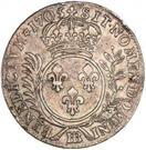 33 Sols - Louis XIV – reverse