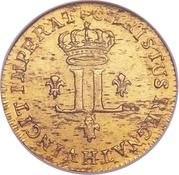1 Louis d'Or - Louis XV – reverse
