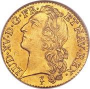 1 Louis d'Or - Louis XV -  obverse