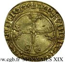 ½ Écu d'Or - Charles VII – reverse