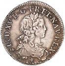 ½ Ecu - Louis XV – obverse