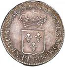 ½ Ecu - Louis XV – reverse