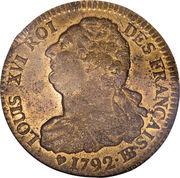 2 Sols - Louis XVI (FRANÇAIS) -  obverse