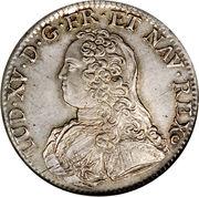 1 Écu - Louis XV – obverse