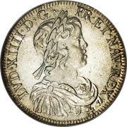 ½ Écu - Louis XIV - obverse