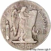 1 Ecu - Louis XVI (FRANÇAIS) – reverse
