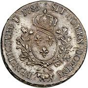 1 Écu - Louis XVI – reverse