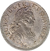 1 Ecu - Louis XV – obverse