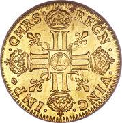 1 Louis d'Or - Louis XIV – reverse