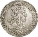 ½ Écu - Louis XIII (2nd portrait) – obverse