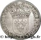 ½ Écu - Louis XIII (2nd portrait) – reverse