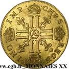 Double Louis d'Or - Louis XIII – reverse