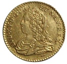 ½ Louis d'Or - Louis XV – obverse
