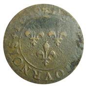 Double Tournois - Henri IV (Lyon mint; 2nd type) – reverse