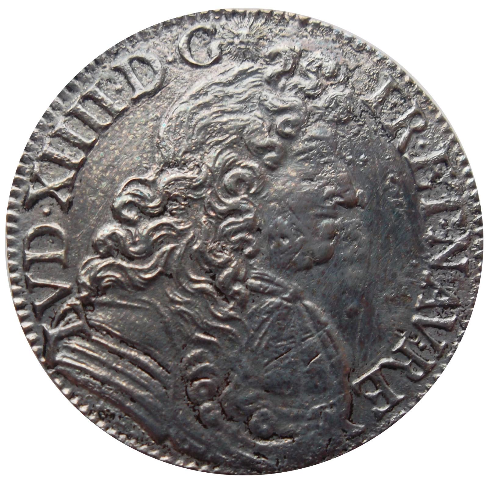 """½ écu à la cravate (1er type) - Louis XIV dit """"le Roi Soleil"""" - France - Royaume - Numista"""
