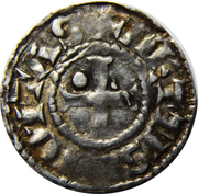 Denier - Charles III the Simple – reverse