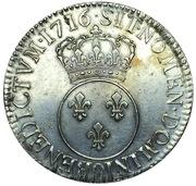 1 Écu - Louis XV – reverse